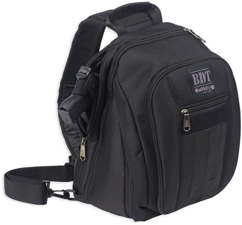 Bulldog BDT Tactical Small Concealed Carry Sling Pack - Black