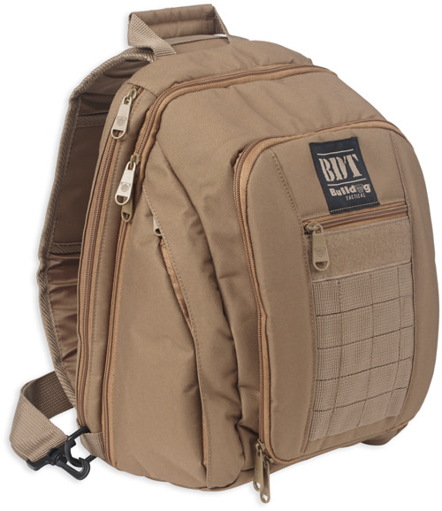 Bulldog BDT Tactical Small Concealed Carry Sling Pack - Tan