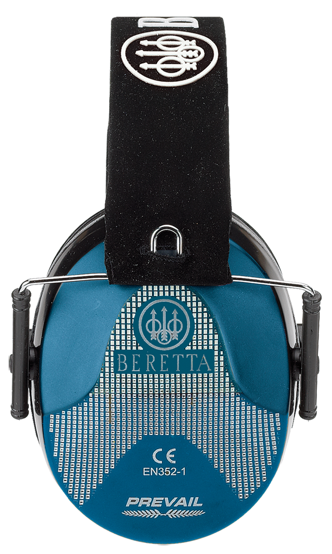 Beretta Low Profile Earmuffs - NRR 25 dB - Blue