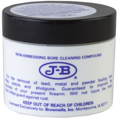 Brownells J-B Non-Embedding Bore Cleaning Compound - 2 oz