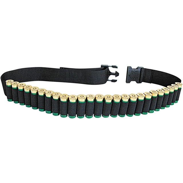 Allen Shotgun Shell Belt - 25 Round - Black