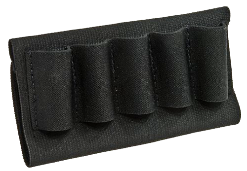 BLACKHAWK! Buttstock Shotgun Shell Holder - 5 Round - Black