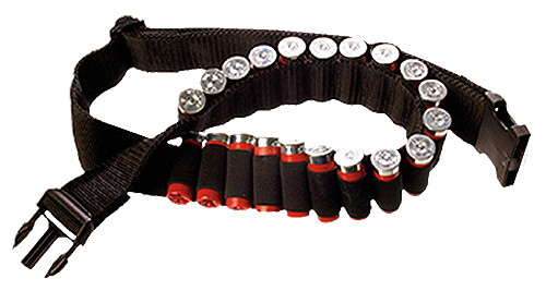 Bulldog Shotgun Shell Belt - 20 Round - Black