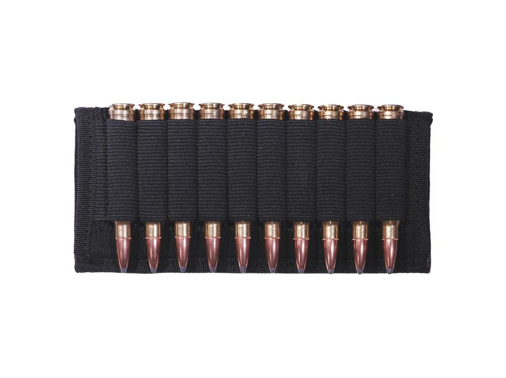 GrovTec Rifle Belt Slide Ammo Holder - 10 Round - Black