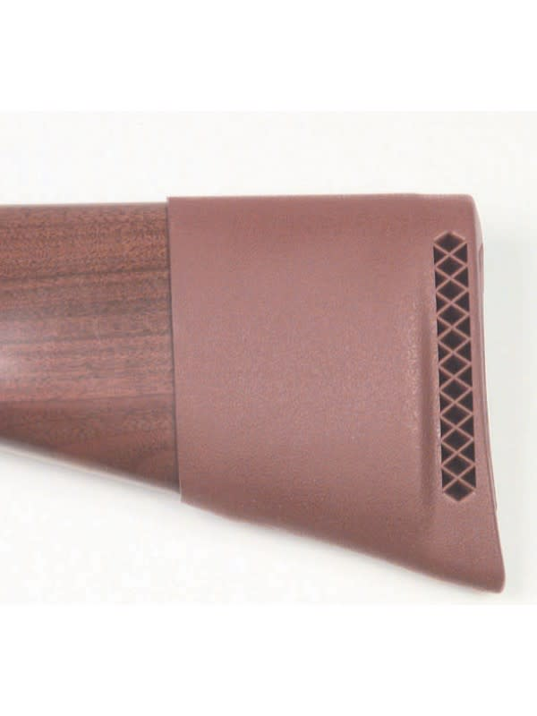 Pachmayr Slip-On Recoil Pad - Small - Brown - Rubber