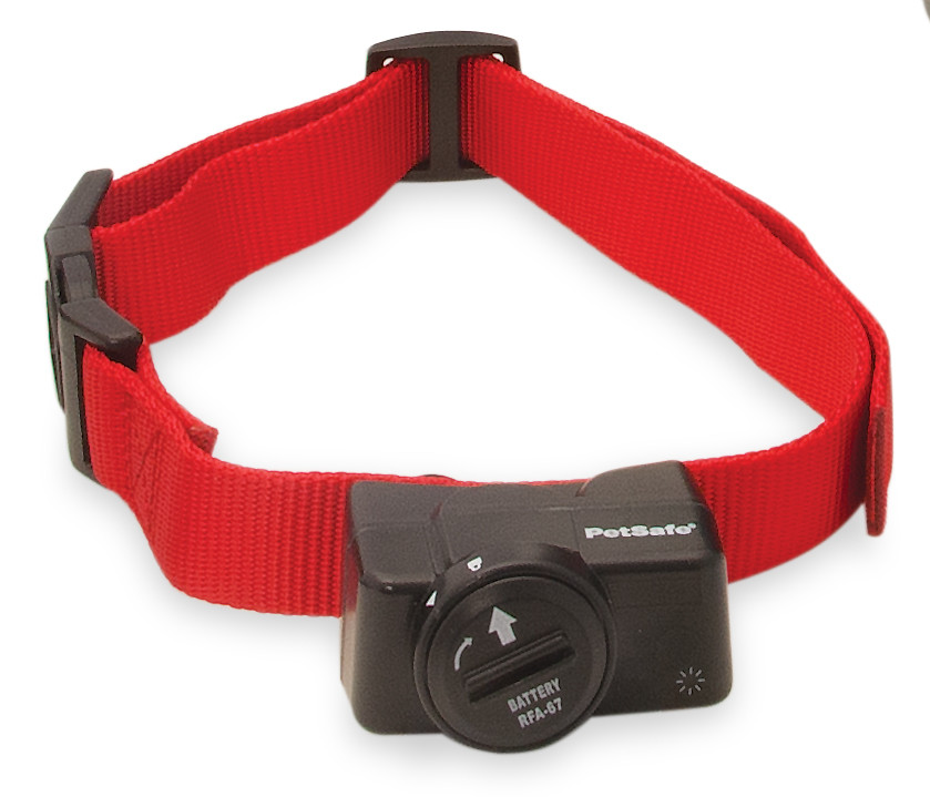 PetSafe® Wireless Pet Containment System Receiver Collar - Black/Red