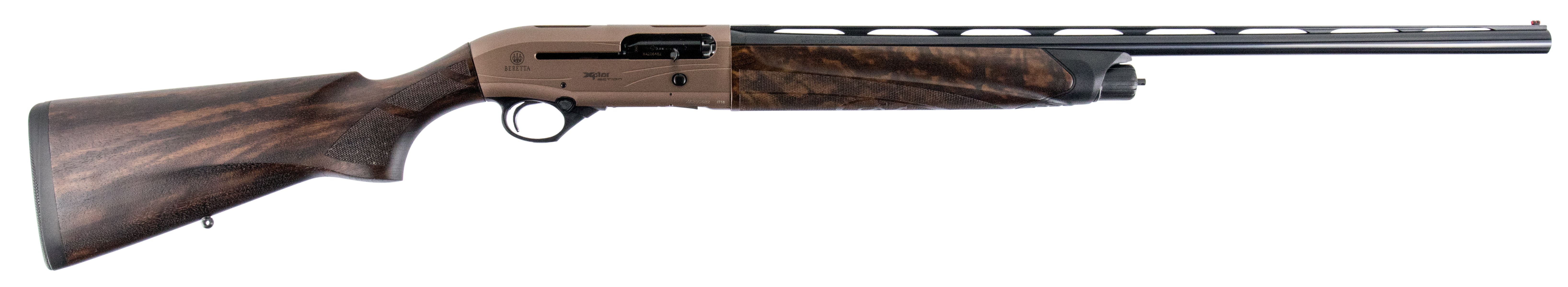 Beretta A400 Xplor Action Semi-Auto Shotgun 3'' 12 Gauge 26'' Bronze Toned Aluminum Alloy - Walnut