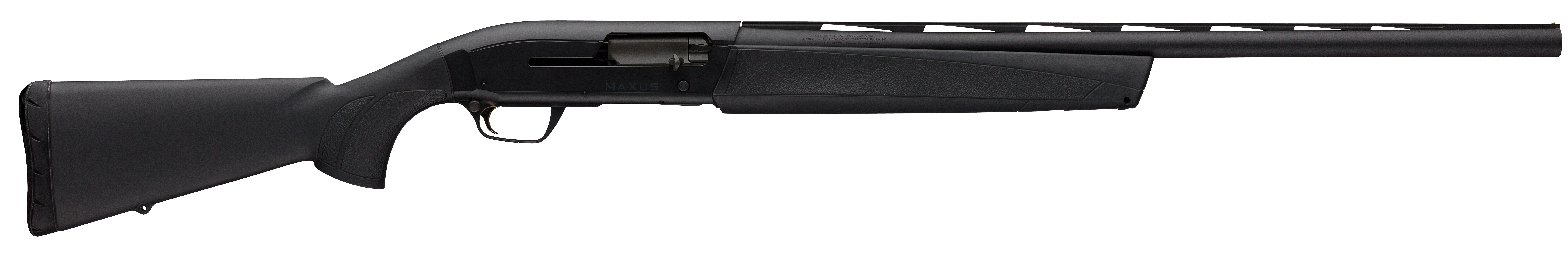 Browning Maxus Stalker Semi-Auto Shotgun 3'' 12 Gauge 28'' Black Aluminum Alloy/Blued Barrel - Synthetic - Black