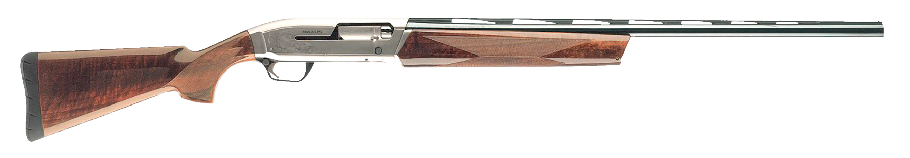 Browning Maxus Hunter Semi-Auto Shotgun 3'' 12 Gauge 26'' Nickeled Aluminum Alloy/Blued Barrel - Walnut