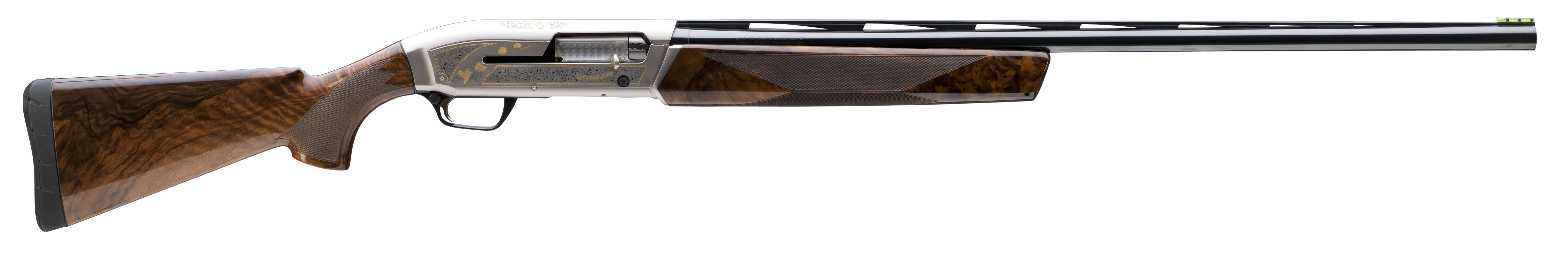 Browning Maxus Sporting Golden Clays Semi-Auto Shotgun 3'' 12 Gauge 30'' Nickeled Aluminum Alloy/Blued Barrel - Grade II Gloss/Grade III Walnut