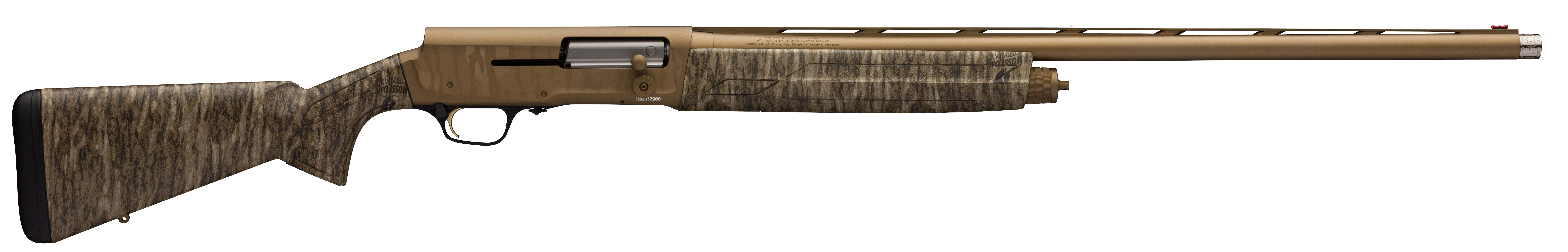 Browning A5 Wicked Wing Semi-Auto Shotgun 3.5'' 12 Gauge 26'' Burnt Bronze Cerakote - Synthetic - Mossy Oak Bottomland