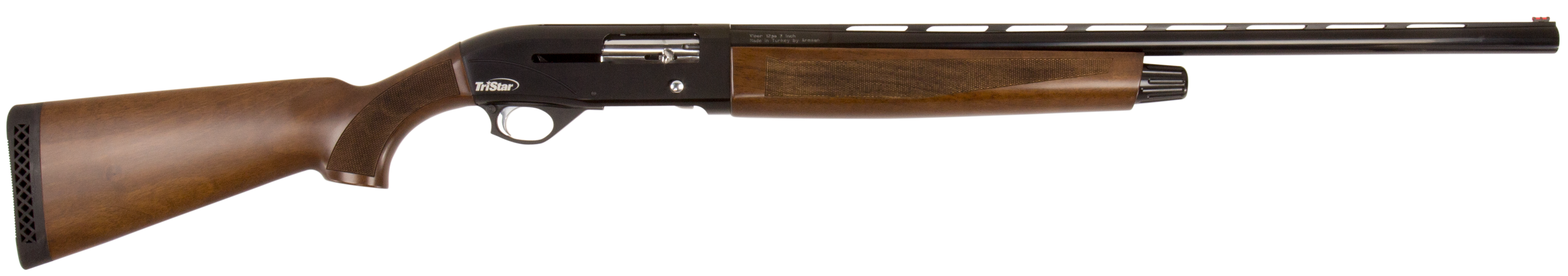 TriStar Viper G2 Wood Semi-Auto Shotgun 3'' 12 Gauge 26'' Black - Turkish Walnut