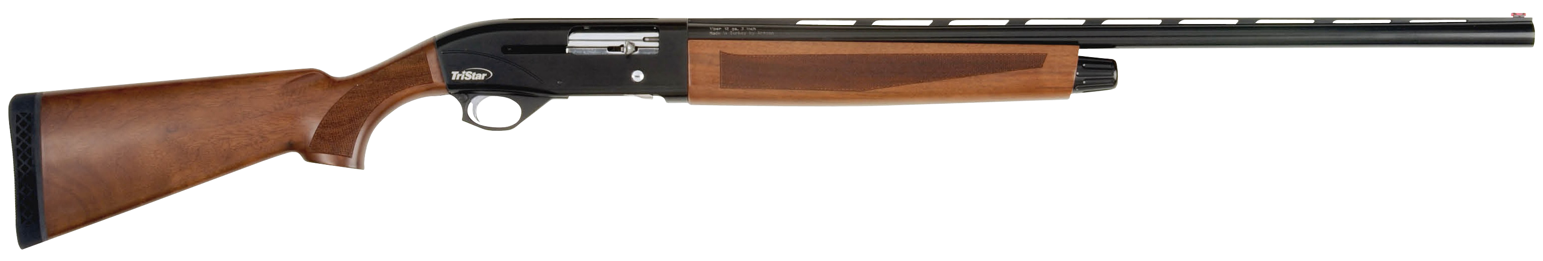 TriStar Viper G2 Wood Semi-Auto Shotgun 3'' 410 Bore 26'' Black - Turkish Walnut