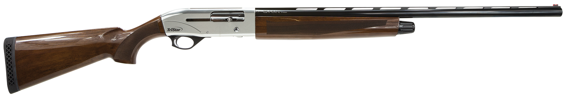 TriStar Viper G2 Silver Semi-Auto Shotgun 3'' 20 Gauge 26'' Silver Steel - Turkish Walnut