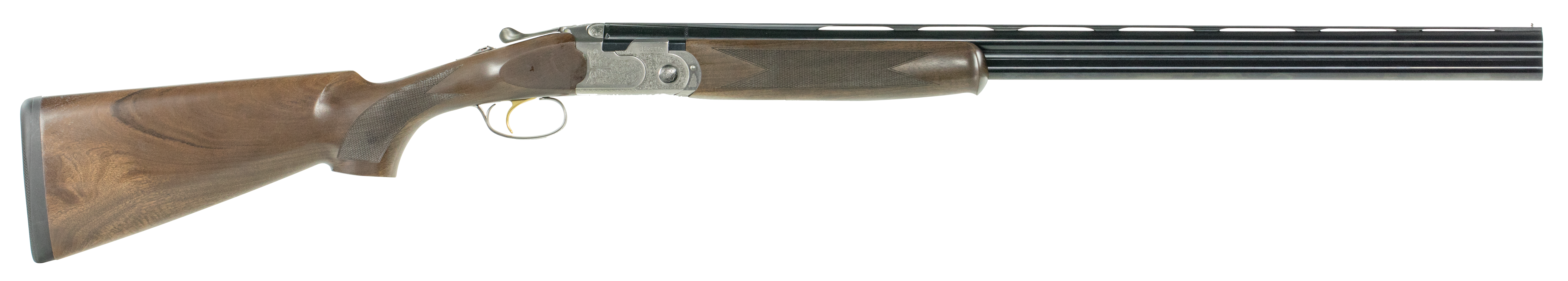 Beretta 686 Silver Pigeon I Over/Under Shotgun 3'' 410 Bore 26'' Silver Engraved - Walnut