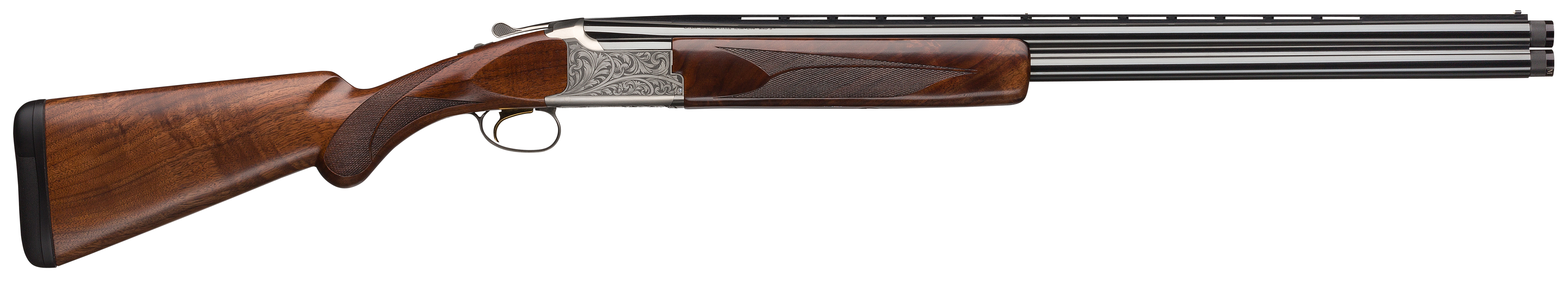 Browning Citori White Lightning Over/Under Shotgun 3'' 12 Gauge 26'' Silver Nitride Steel/Blued Barrel - Grade III Gloss/Grade IV Walnut