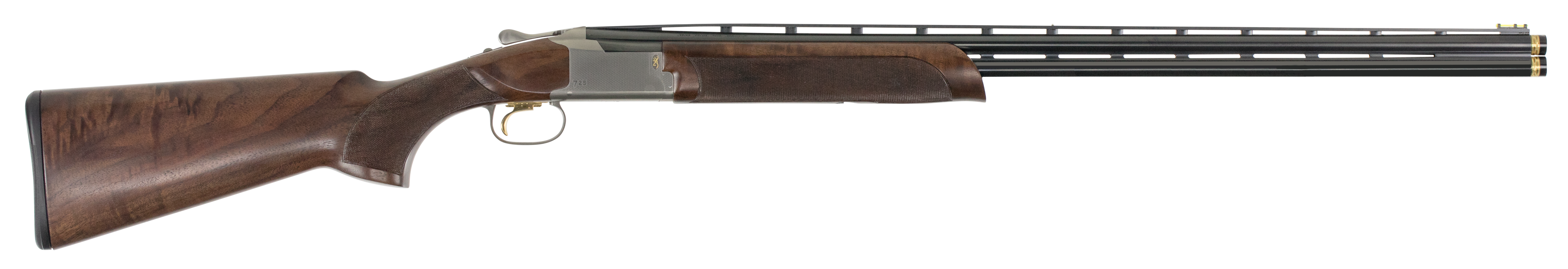 Browning Citori 725 Sporting Over/Under Shotgun 2.75'' 28 Gauge 30'' Silver Nitride Steel/Blued Barrel - Grade III Gloss/Grade IV Walnut