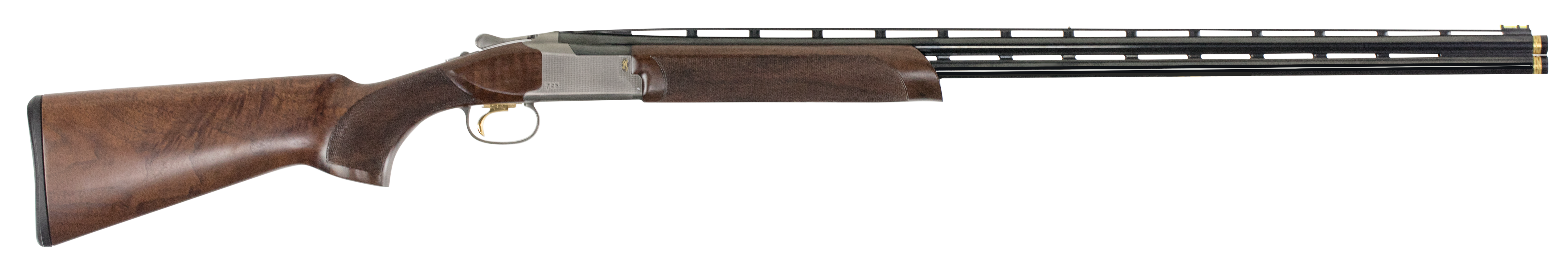 Browning Citori 725 Sporting Over/Under Shotgun 3'' 410 Bore 32'' Silver Nitride Steel/Blued Barrel - Grade III Gloss/Grade IV Walnut