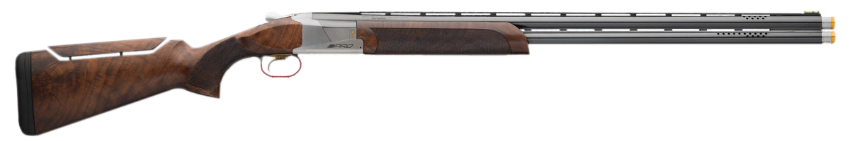 Browning Citori 725 Pro Sporting Over/Under Shotgun 2.75'' 12 Gauge 32'' Silver Nitride Steel/Blued Barrel - Black Walnut Adjustable Comb
