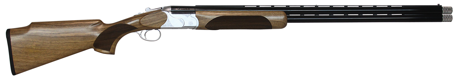 CZ-USA Redhead Premier Target Over/Under Shotgun 3'' 12 Gauge 30'' Silver - Turkish Walnut
