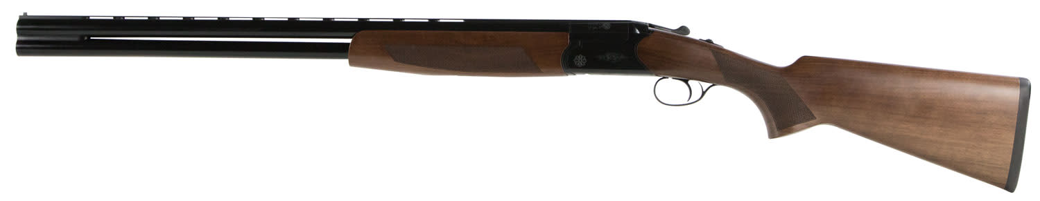 CZ-USA Drake Southpaw - Left Handed Over/Under Shotgun 3'' 12 Gauge 28'' Black Chrome - Turkish Walnut