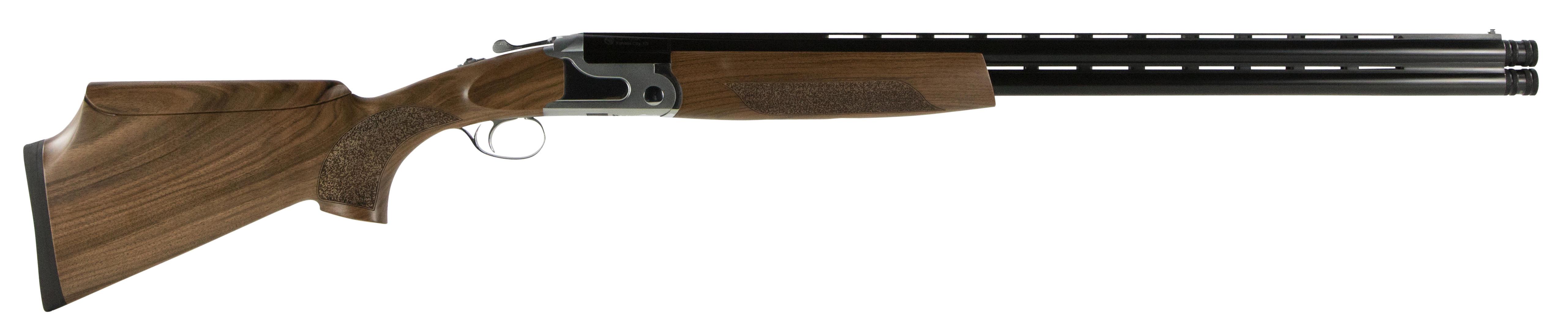CZ-USA Sterling SCTP Southpaw - Left Handed Over/Under Shotgun 3'' 12 Gauge 28'' Two Toned Stainless/Blued - Turkish Walnut - Adjustable