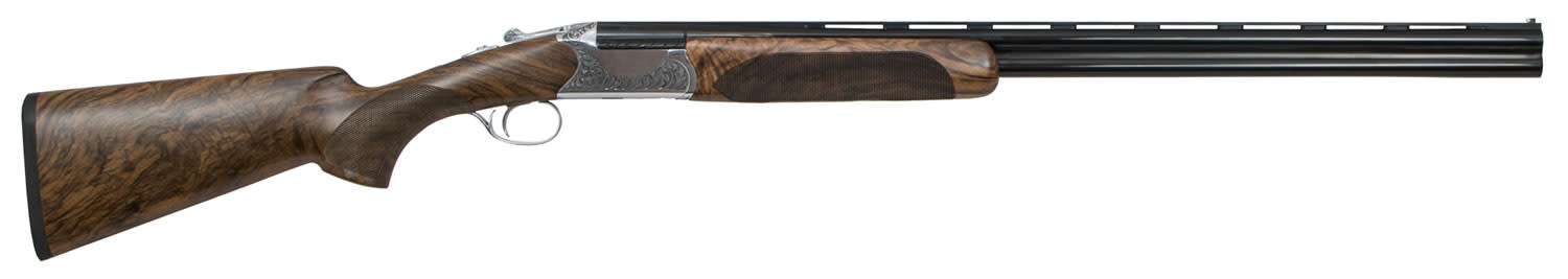 CZ-USA Supreme Field Over/Under Shotgun 3'' 20 Gauge 28'' Polished Nickel/Chrome - Grade III Turkish Walnut