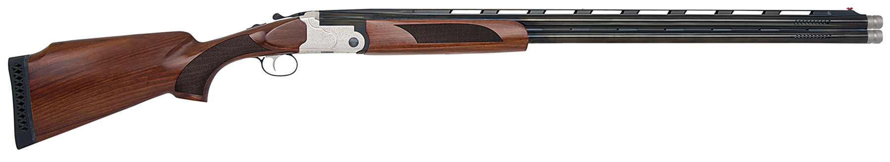 Mossberg Silver Reserve II Field Super Sport Over/Under Shotgun 3'' 12 Gauge 32'' Silver Engraved - Black Walnut