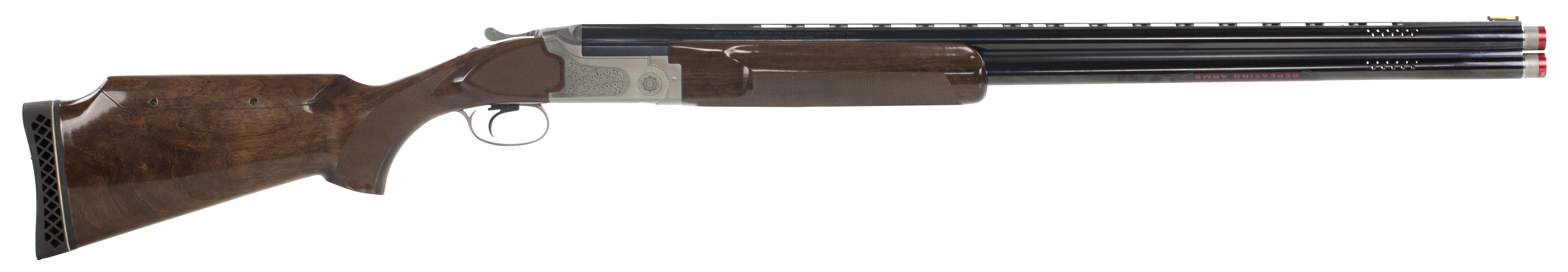 Winchester 101 Pigeon Trap Over/Under Shotgun 2.75'' 12 Gauge 30'' Nickeled Aluminum Alloy - Turkish Walnut
