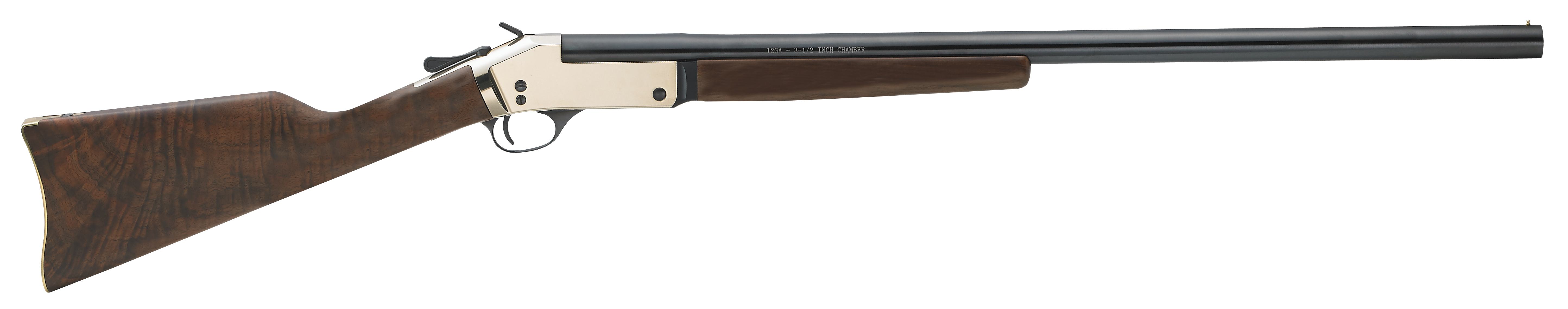 Henry Brass Frame Break Open Shotgun 3'' 20 Gauge 26'' Brass - Walnut