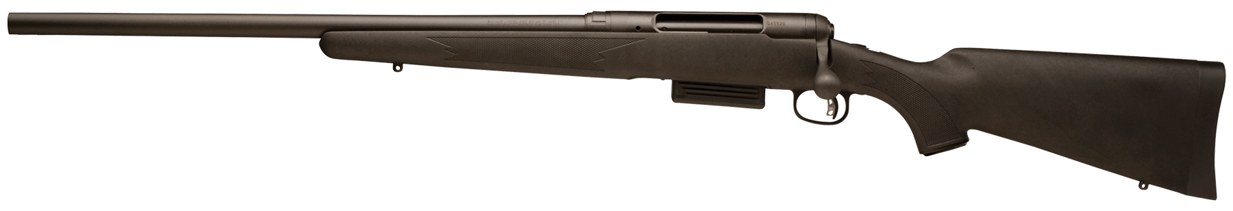 Savage 220 Slug Gun - Left Handed Bolt Action Shotgun 3'' 20 Gauge 22'' Blued Steel - Synthetic - Black
