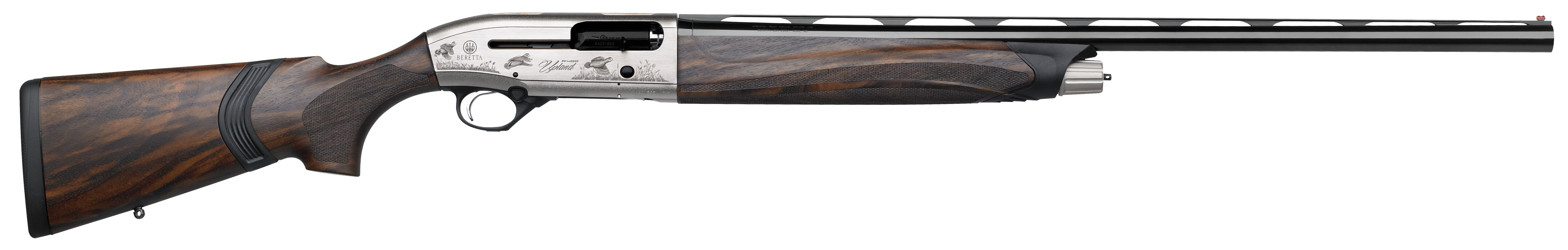 Beretta A400 Upland KO Semi-Auto  3'' 12 Gauge 26'' Nickeled Aluminum Alloy with Engraving - Walnut