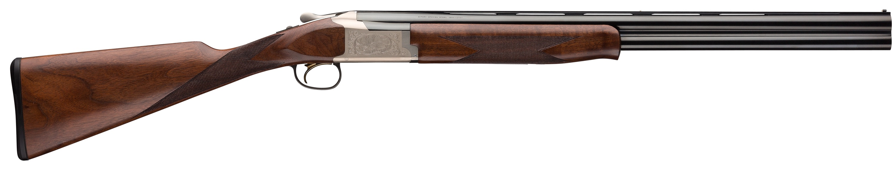 Browning Citori 725 Feather Superlight Over/Under 2.75'' 20 Gauge 26'' Silver Nitride Aluminum Alloy - Black Walnut