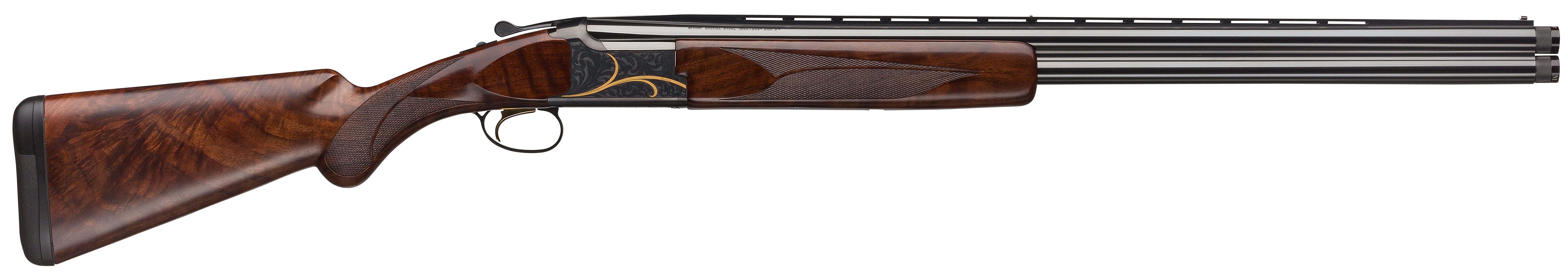 Browning Citori Gran Lightning Over/Under 3'' 12 Gauge 26'' Silver Nitride Steel - Black Walnut
