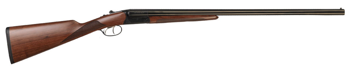CZ-USA Bobwhite G2 Side by Side 3'' 20 Gauge 28'' Black Chrome - Turkish Walnut