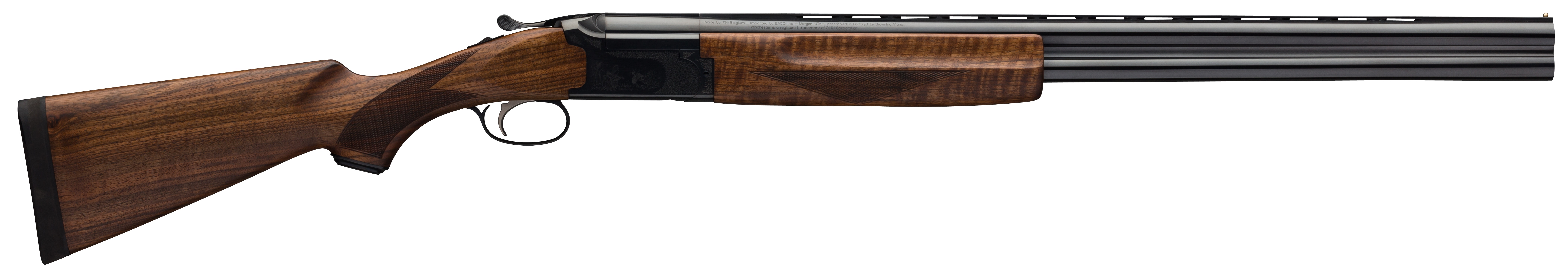 Winchester 101 Deluxe Field Over/Under 3'' 12 Gauge 28'' Blued Aluminum Alloy - Turkish Walnut