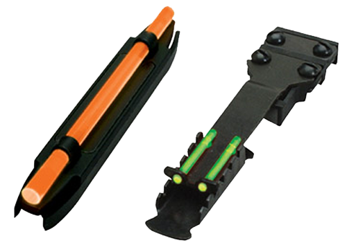 Hiviz C4001 C-Series  M200/TS2002 Front/Rear Shotgun Sight Combo  - Green Winchester 1300,1400,Super X2, and Mossberg