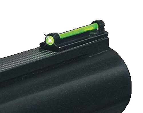 Truglo TG949B Tru-Bead Universal Target Shotgun Sight - Fiber Optic Green/Red/Yellow/Orange Front Black