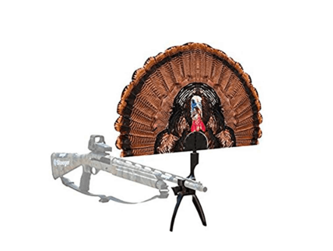 MOJO Tail Chaser Max Turkey Fan and Shotgun Clamp