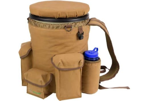 Peregrine Outdoors Venture Bucket Pack with Silent Spin Seat - Classic Brown