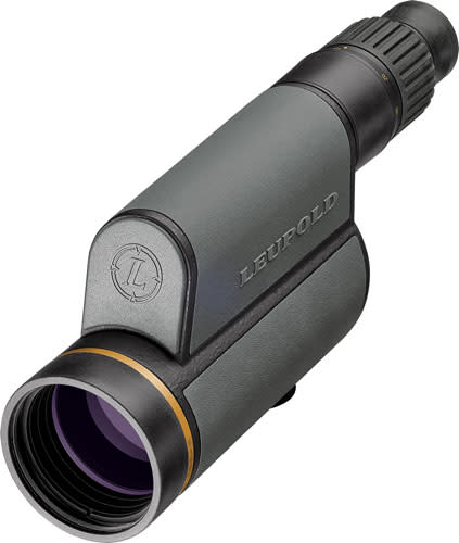 Leupold Gold Ring 12-40x60mm Straight Spotting Scope Shadow Gray