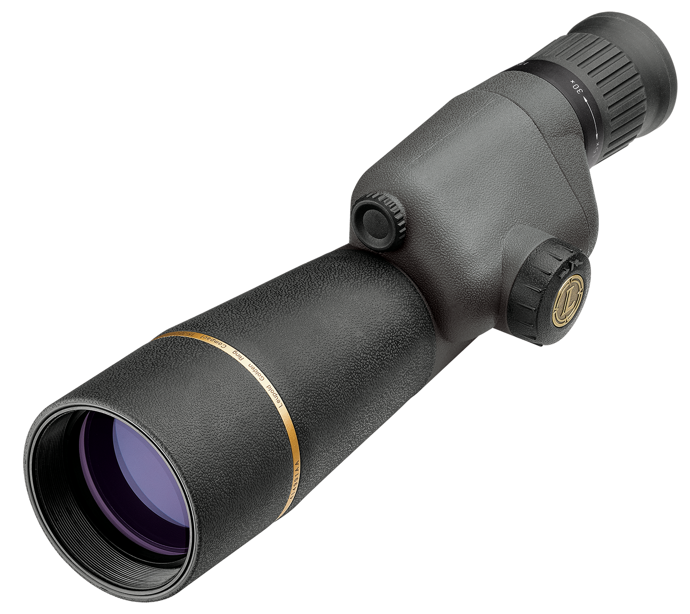 Leupold Gold Ring 15-30x 50mm Compact Straight Spotting Scope Shadow Gray