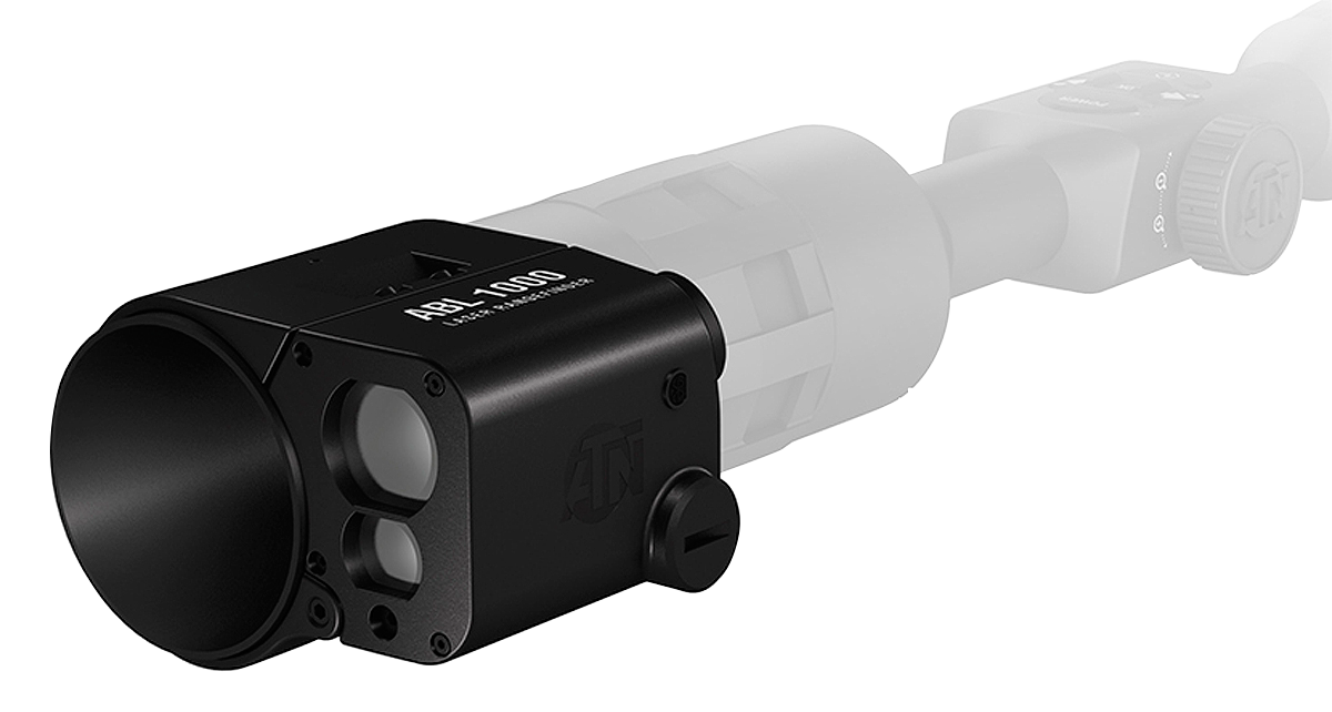 ATN Auxiliary Ballistic Laser 1000 Rangefinder for Smart HD Scopes