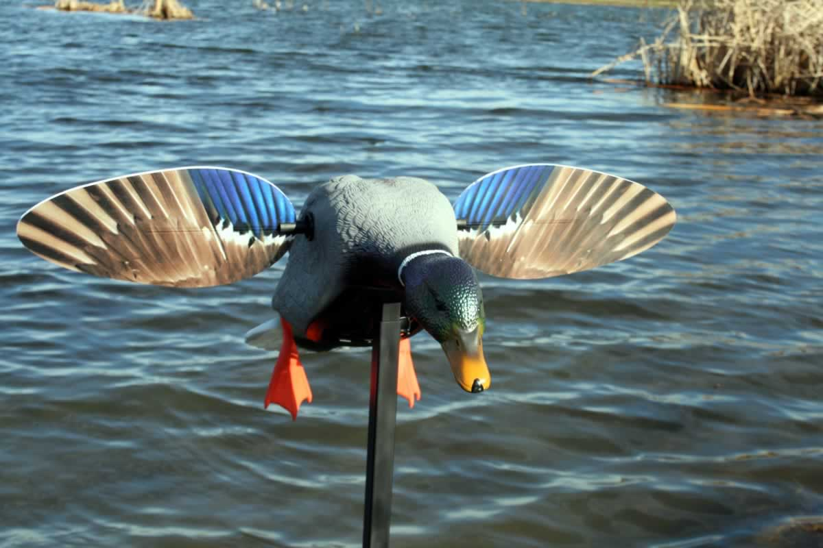 Mojo Elite Series Mini Mallard Motion Decoy - Drake - 4AA