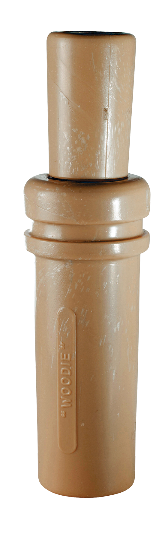 Duck Commander Wood Duck Duck Call - Single Reed - Plastic Tan