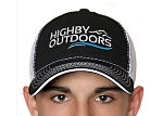 Highby Outdoors Logo Cap - Black/White