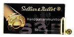 Sellier & Bellot Ammunition 9mm Luger 115 Grain Full Metal Jacket Per 50