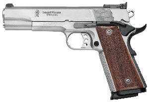 S&W® Performance Center® SW1911 Pro Series® Pistol - 9mm 10+1 - 5' - Wood/Stainless