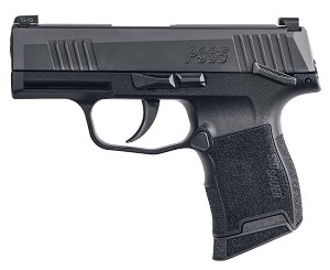 SIG SAUER® P365 Pistol - 9mm 10+1 - Black with Manual Safety