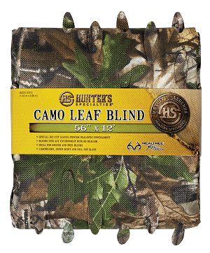 Hunter Specialties Camo Leaf Blind Material 56' x 12' Realtree Xtra Green Camo